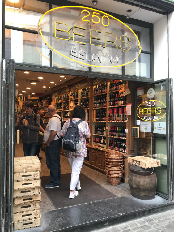 250 Beers Belgium Shop Brussels