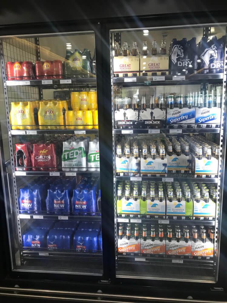 Hamilton Island Mainstream Beer Fridge